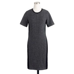 J crew mixed houndstooth dress wool | size 00